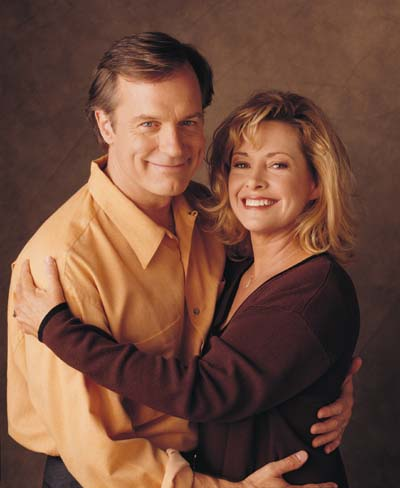 Stephen Collins and Catherine Hicks as the Reverend and Mrs. Camden