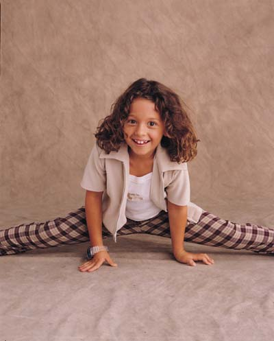 Not only the star of 7th Heaven, but a gymnast! Impressive!